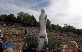 Chapelet : les Mystères douloureux sur la colline